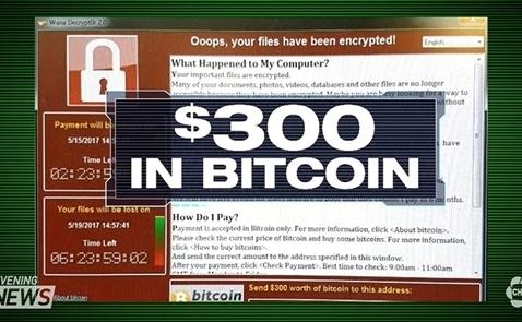 Các hacker đứng sau WannaCry kiếm được lượng bitcoin trị giá 143.000 USD