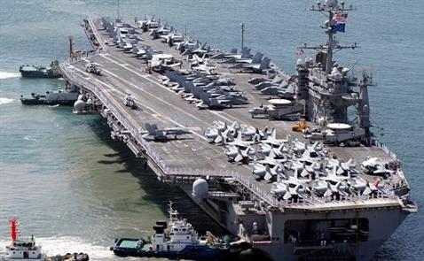 Lầu Năm Góc nói tàu sân bay Mỹ sẽ thăm Việt Nam vào năm sau