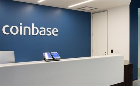 Sàn tiền ảo Coinbase nhận đầu tư 100 triệu USD