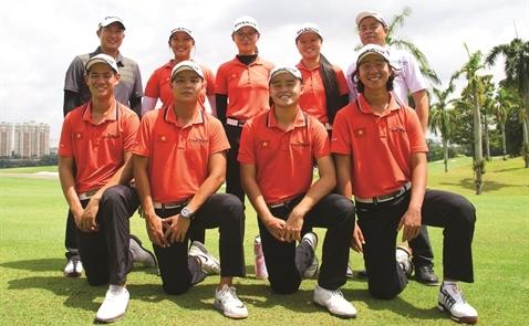 Tuyển golf Việt Nam dự SEA Games 29: Có danh sẽ nên phận