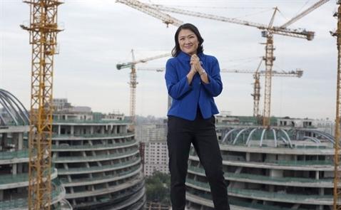 Từ công nhân trở thành bà hoàng bất động sản Bắc Kinh