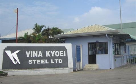 Thép Kyoei xây dựng nhà máy thép mới ở Việt Nam