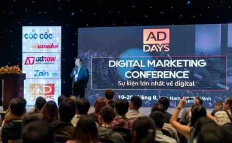 AdDays in Vietnam thu hút hàng loạt chuyên gia tiếp thị số