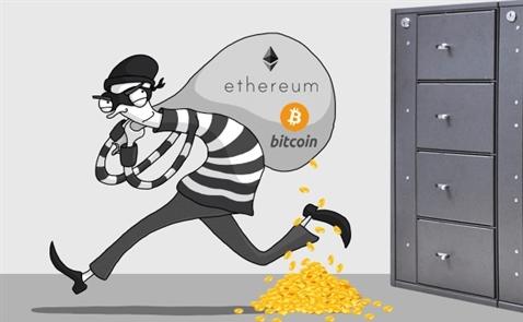 Các vụ đánh cắp tiền ảo gây thiệt hại hàng trăm triệu USD