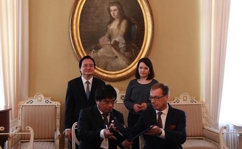 Việt Nam nghiên cứu nhập khẩu chương trình đào tạo của Phần Lan