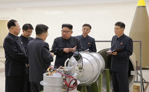 Giá vàng lại tăng mạnh vì Triều Tiên