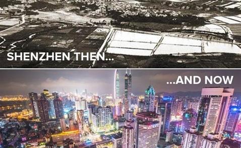 Từ một làng chài, Thâm Quyến chuẩn bị vượt qua Hong Kong