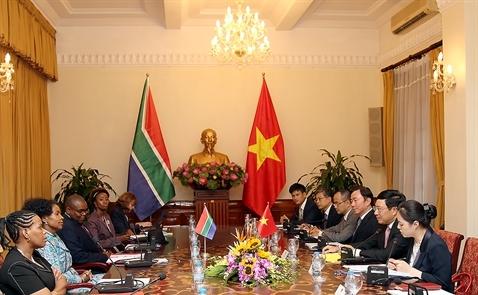 Việt Nam - Nam Phi hướng tới mục tiêu thương mại 2 tỷ USD