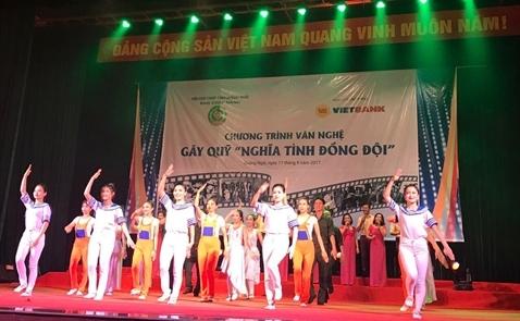 """Vietbank kết nối """" Nghĩa tình đồng đội"""" tại tỉnh Quảng Ngãi"""