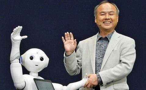 Chủ tịch Softbank: Số lượng robot thông minh sẽ ngang bằng với dân số thế giới