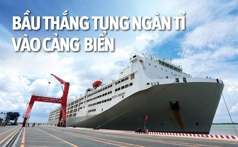 Bầu Thắng tung ngàn tỉ vào cảng biển