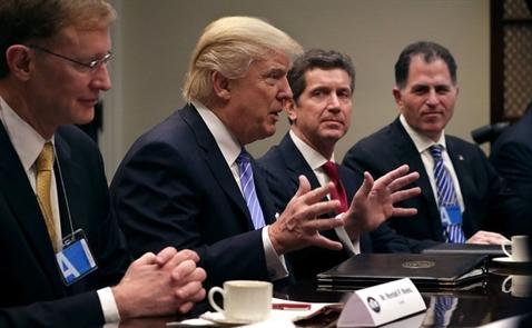 Sắp có mâu thuẫn giữa Trump và Quốc hội Mỹ về việc giảm thuế doanh nghiệp?