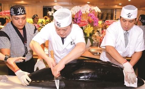Nhà hàng Sushi Nhật: Hướng tới con số 1.000