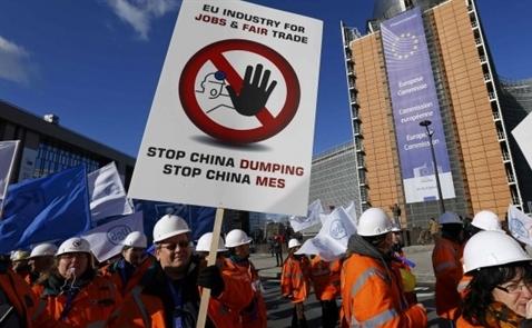 Châu Âu gia tăng chống phá giá đối phó với Trung Quốc