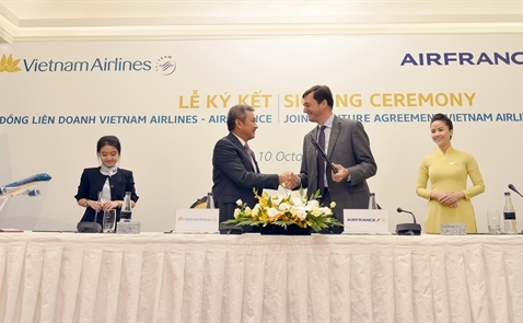 Vietnam Airlines và Air France ký thỏa thuận hợp tác mới