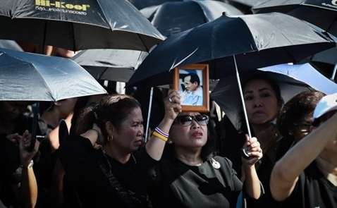 Lễ Hỏa táng của vua Thái Lan đang diễn ra như thế nào?