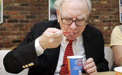 Thói quen ăn uống tiết lộ phong cách đầu tư của Buffett