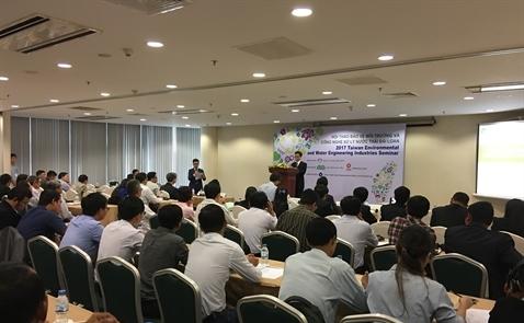 TAITRA giới thiệu công nghệ bảo vệ môi trường và xử lý nước thải
