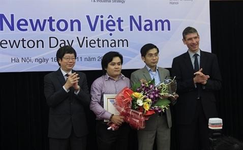 Giải thưởng Newton gần 6 tỷ đồng trao cho dự án Xã hội kết nối