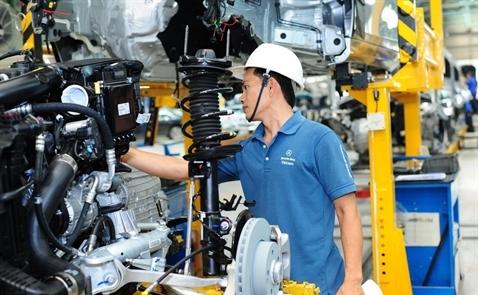 Đề xuất giảm thuế nhập khẩu linh kiện ô tô xuống 0%