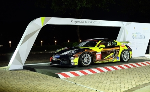 Cayman GT4 Clubsport ra mắt tại TP.HCM