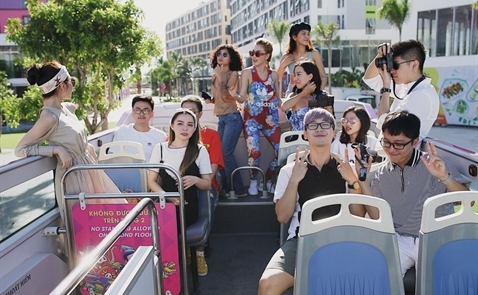 Đà Nẵng tiếp tục đưa tuyến xe bus mui trần Coco Bus Tour N2 vào hoạt động