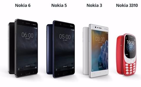Nokia bất ngờ vào Top 3