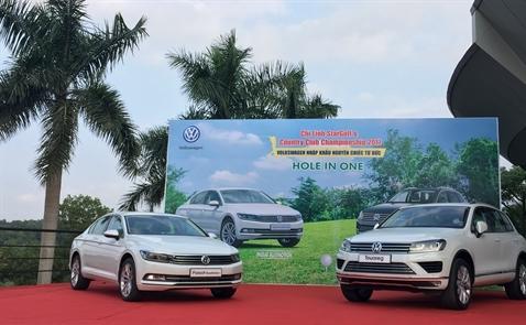 Ngắm Volkswagen Touareg và Passat BlueMotion tại sân golf Chí Linh