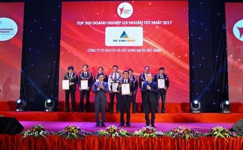 Đất Xanh vào top các doanh nghiệp có lợi nhuận tốt nhất Việt Nam