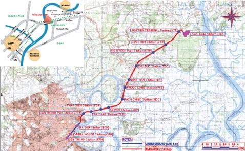 Metro số 1 sẽ được kéo dài đến Đồng Nai và Bình Dương