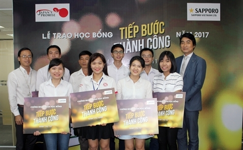Học bổng Tiếp bước thành công của Sapporo Việt Nam