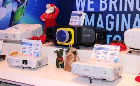 Epson ra mắt hàng loạt thiết bị in và máy chiếu thông minh