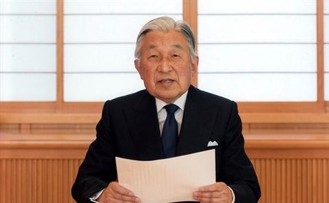 Nhật Hoàng Akihito ấn định ngày thoái vị