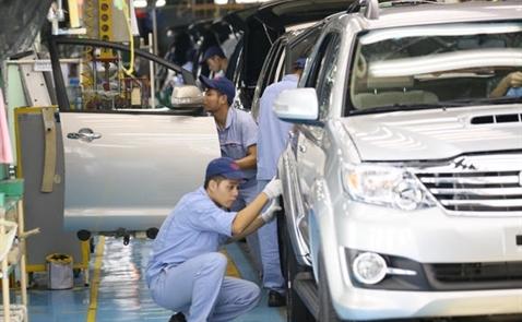 Thuế nhập khẩu linh kiện chính của xe hơi sẽ về 0 kể từ tháng 1.2018