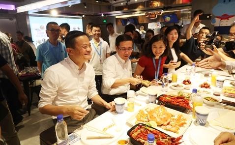 Hệ thống siêu thị thông minh Hema Supermarket của Alibaba