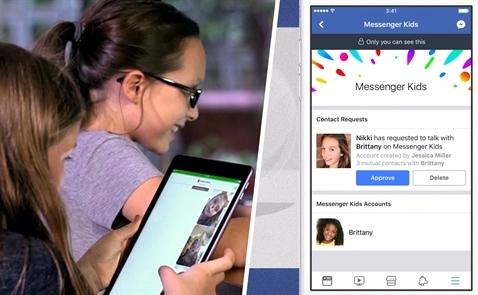 Facebook có phiên bản dành cho trẻ em