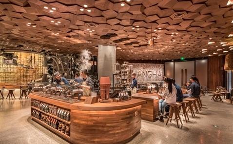 Starbucks lớn nhất thế giới sẽ khai trương tại Thượng Hải