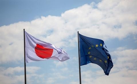 EU-Nhật: Đạt thỏa thuận tự do thương mại lớn nhất thế giới