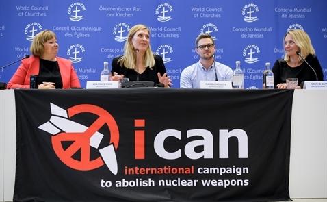 Chiến dịch Quốc tế giải trừ vũ khí hạt nhân nhận Nobel Hoà bình