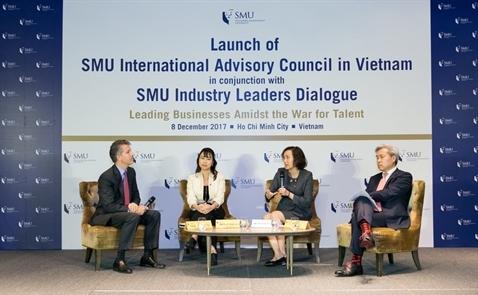 Singapore ra mắt Hội đồng Tư vấn Quốc Tế tại Việt Nam