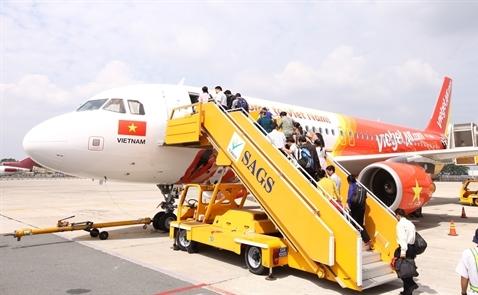 Vietjet khai trương 2 đường bay TP.HCM đi Phuket và Chiang Mai