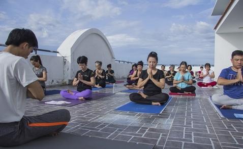 """Việt Nam """"xuất khẩu"""" Yoga sang Nhật"""