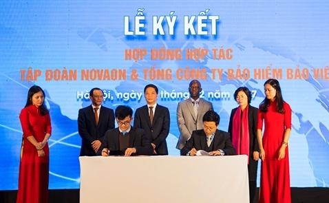 Bảo hiểm Bảo Việt hợp tác với Tập đoàn Digital Novaon