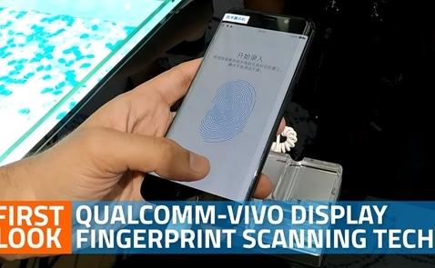 Vivo là hãng đầu tiên tích hợp cảm biến vân tay dưới màn hình