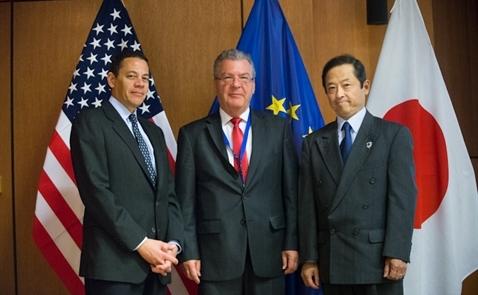 Mỹ, EU và Nhật bắt tay đối phó Trung Quốc về thương mại không công bằng