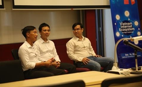 Cộng đồng công nghệ người Việt tại Singapore giao lưu với VNG