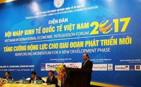 Thủ tướng: 6 điểm trong hội nhập kinh tế quốc tế của Việt Nam.