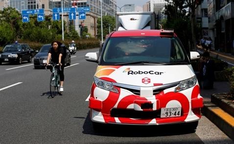 Nhật phát triển taxi tự lái phục vụ Olympic 2020 tại Tokyo
