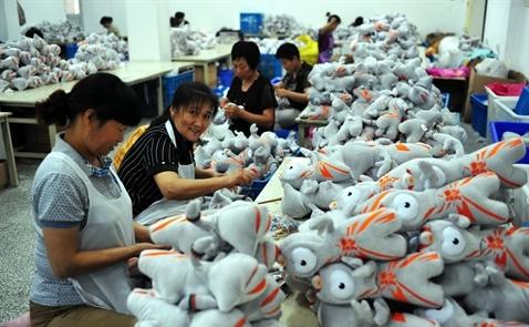 Mọi hãng đồ chơi đều đổ về Trung Quốc