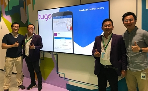Facebook chọn Tugo.com.vn làm khách hàng chiến lược